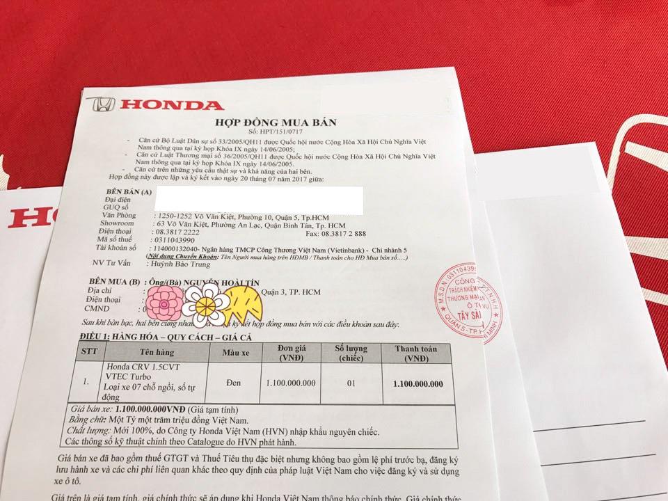 Honda CR-V 7 sap ve Viet Nam, gia ban la 1,1 ty dong? hinh anh 1