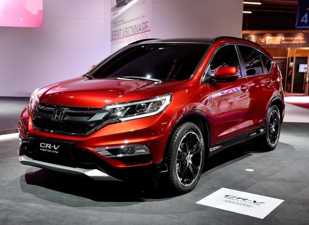 Honda Viet Nam: Hien tai chua co ke hoach voi ban CR-V 7 cho hinh anh 1