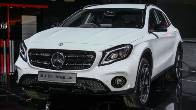 Mercedes GLA 2018 ban chinh hang tai Viet Nam, gia 1,3 ty dong? hinh anh 1
