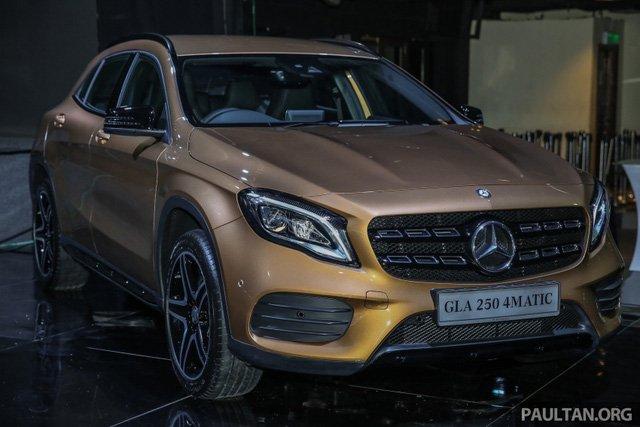 Mercedes GLA 2018 ban chinh hang tai Viet Nam, gia 1,3 ty dong? hinh anh 5