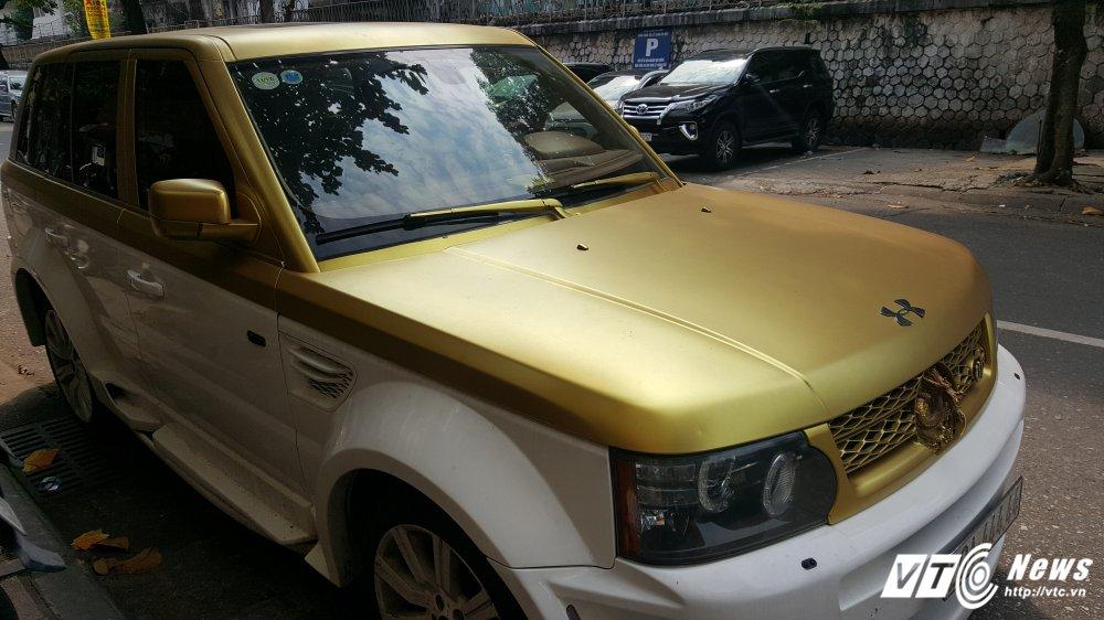 Can canh sieu xe Range Rover hinh rong bien 'ngu tu' o Ha Noi hinh anh 5