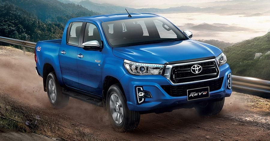 Mau ban tai Toyota Hilux Revo 2018 ban chinh thuc tai Thai Lan chi 466 trieu dong hinh anh 1
