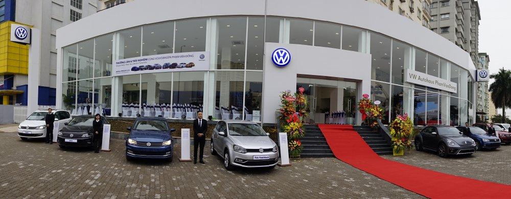 Volkswagen Viet Nam ra mat dai ly 4S VW AutoHaus tai Ha Noi hinh anh 1