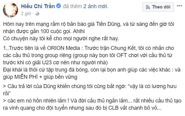 Lum xum bang bao gia ngan 'do' cua thu mon Bui Tien Dung, Hieu Orion dap tra: 'Cac CLB dung tham lam' hinh anh 3