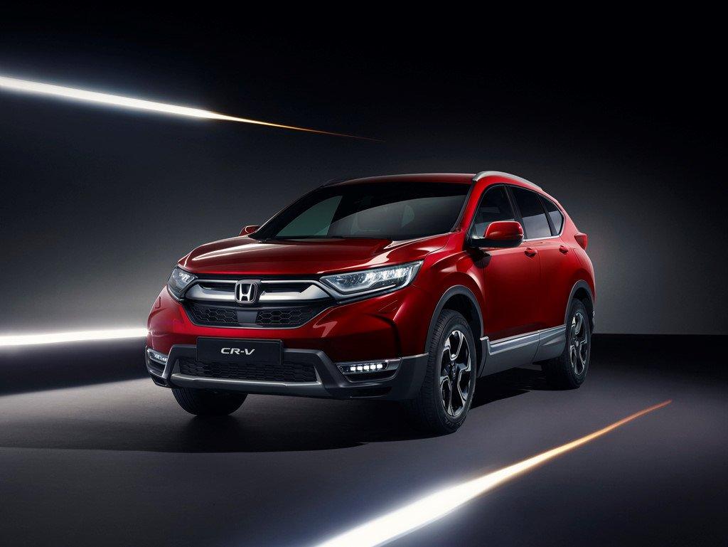 Honda gioi thieu CR-V 2018 su dung cong nghe hybrid hinh anh 1