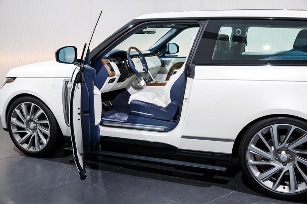 Can canh mau Range Rover SV Coupe cuc dat chi danh cho dai gia hinh anh 5