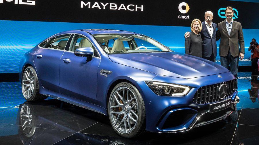 Chiem nguong ve dep kho cuong cua Mercedes-Benz AMG GT 4-Door Coupe 2019 hinh anh 2
