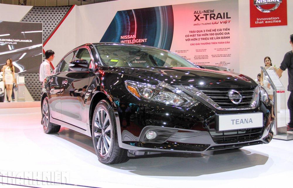 Bảng giá o to tháng 4/2018: Nissan choi ngong, giảm 'sóc' 295 triẹu dòng dói vói mãu xe 'é' Teana hinh anh 1