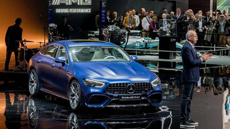 Chiem nguong ve dep kho cuong cua Mercedes-Benz AMG GT 4-Door Coupe 2019 hinh anh 1