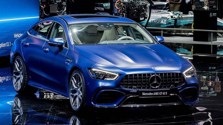 Chiem nguong ve dep kho cuong cua Mercedes-Benz AMG GT 4-Door Coupe 2019 hinh anh 4