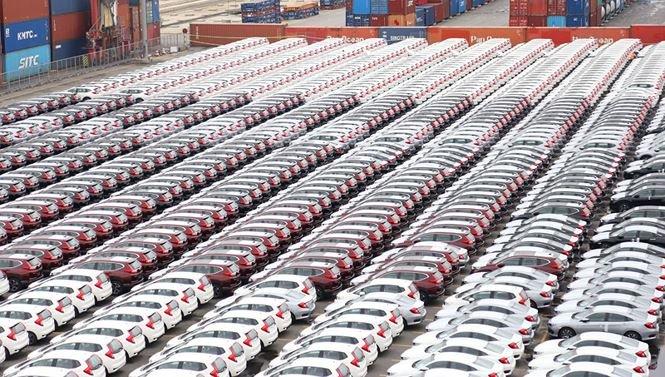 924 o to Honda Bac tien tai cang Hai Phong, duoc giam them 5% thue hinh anh 1