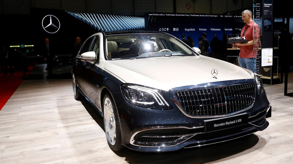 Can canh mau xe sieu dat Mercedes-Benz S-Class Maybach 2019 hinh anh 1