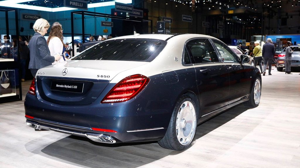Can canh mau xe sieu dat Mercedes-Benz S-Class Maybach 2019 hinh anh 6