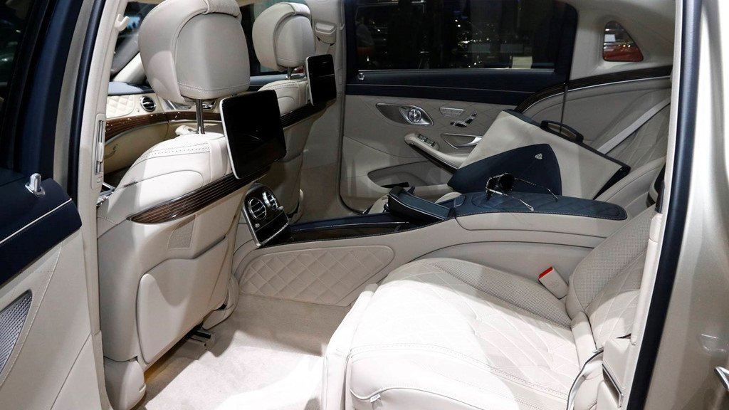 Can canh mau xe sieu dat Mercedes-Benz S-Class Maybach 2019 hinh anh 5