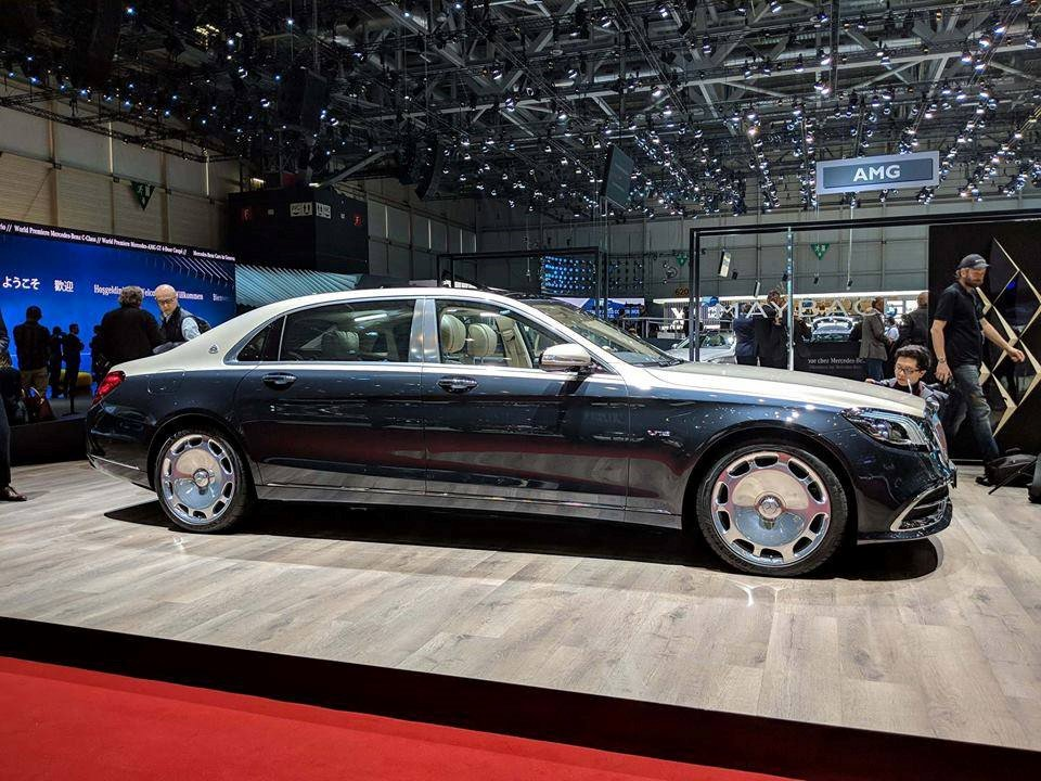 Can canh mau xe sieu dat Mercedes-Benz S-Class Maybach 2019 hinh anh 3