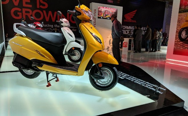 Can canh mau Honda Activa 5G, 'chi em song sinh' voi Lead, gia chi 18 trieu dong hinh anh 2