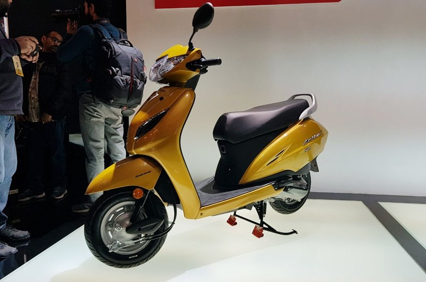Can canh mau Honda Activa 5G, 'chi em song sinh' voi Lead, gia chi 18 trieu dong hinh anh 4
