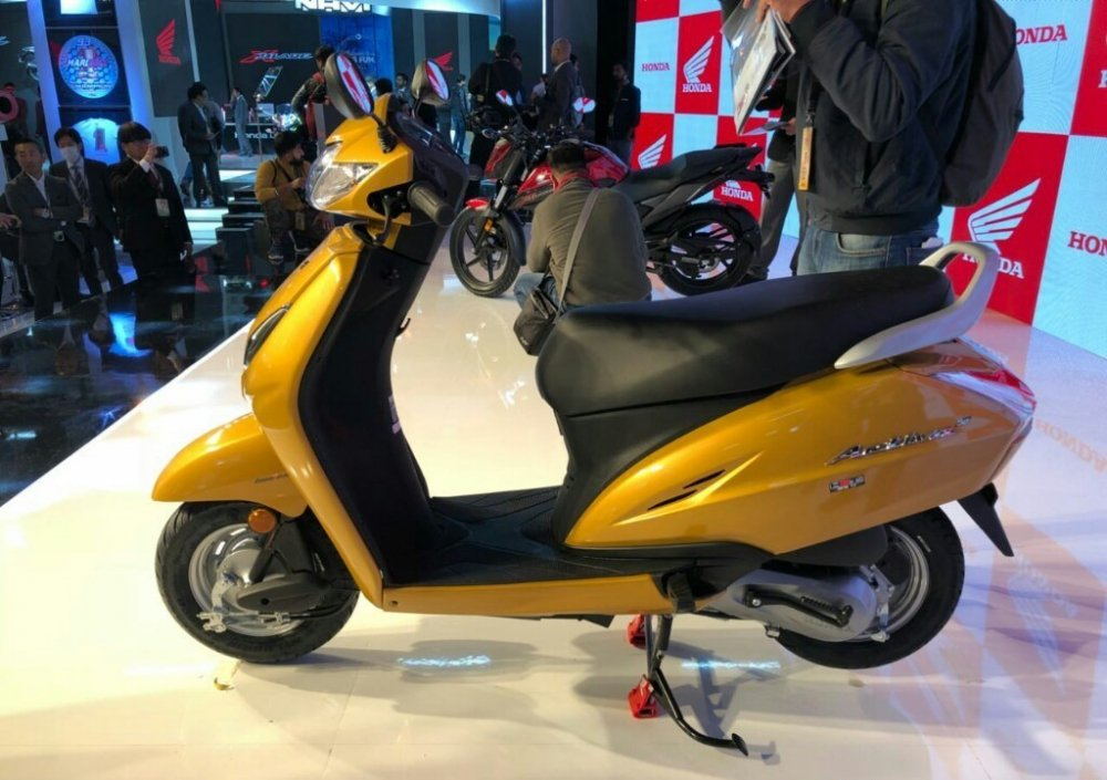 Can canh mau Honda Activa 5G, 'chi em song sinh' voi Lead, gia chi 18 trieu dong hinh anh 1