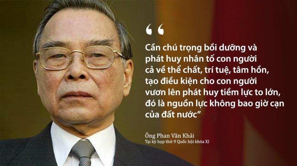 Nguyen Thu tuong Phan Van Khai va tam nhin chien luoc giup Viet Nam 'cat canh' hinh anh 1