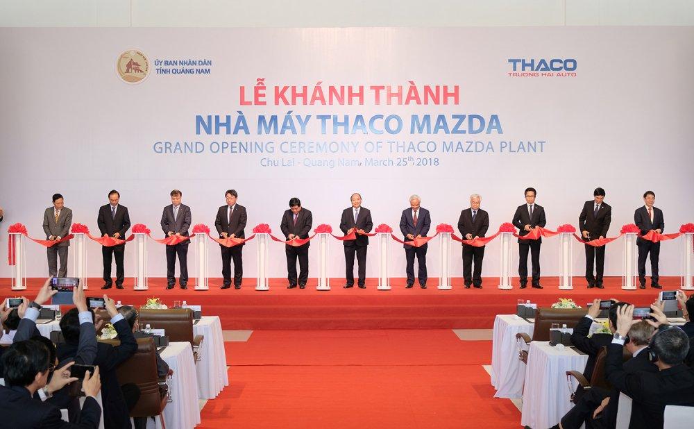 Thu tuong: Chinh phu doi xu binh dang voi cac nha san xuat, lap rap o to hinh anh 1