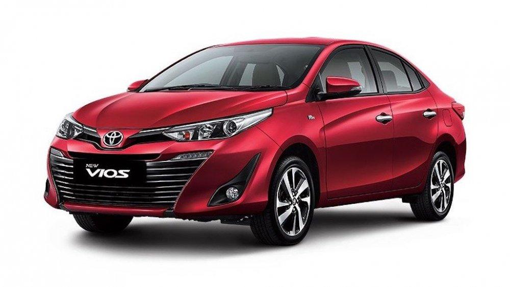 Toyota ra mát Vios thé hẹ mói, giá bán rẻ nhát tù 483 triẹu dòng hinh anh 1