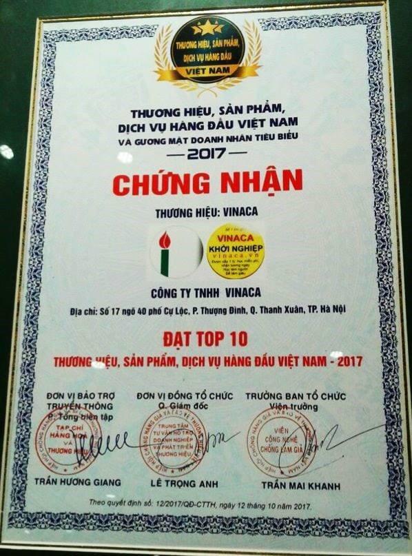 Thuc hu thong tin cong ty thuoc ung thu gia Vinaca mua giải thuỏng giá 5-10 triẹu dòng hinh anh 1