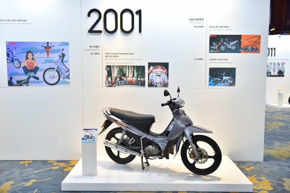 Ngám các mãu xe gán máy Yamaha suot chieu dai 20 nam tại Viẹt Nam hinh anh 2
