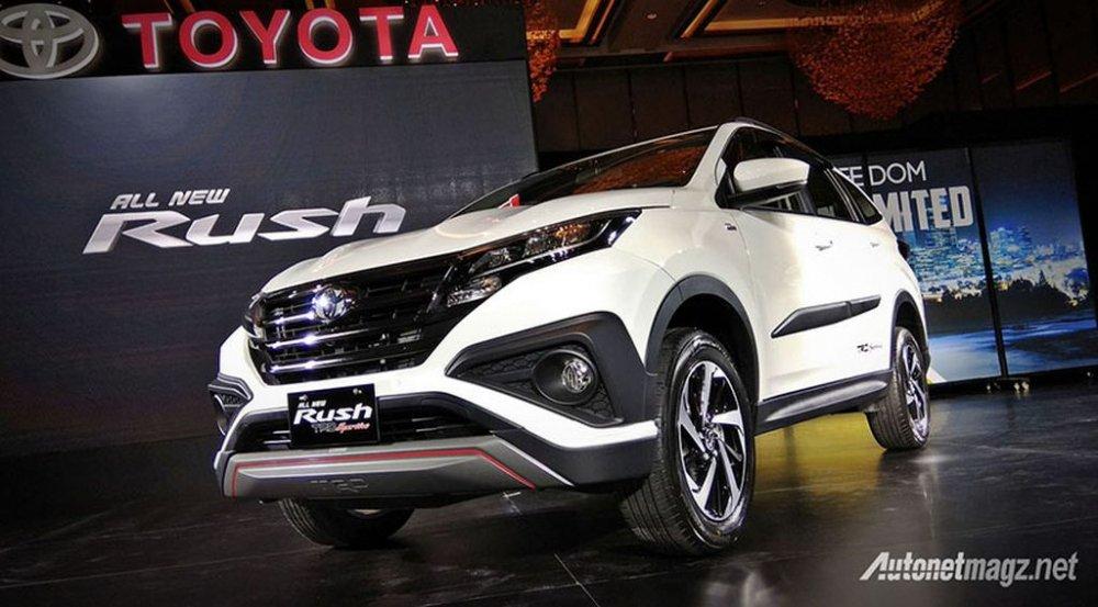 Toyota Rush 2018 chuản bị vè Viẹt Nam, giá rẻ tù 350 triẹu dòng? hinh anh 1