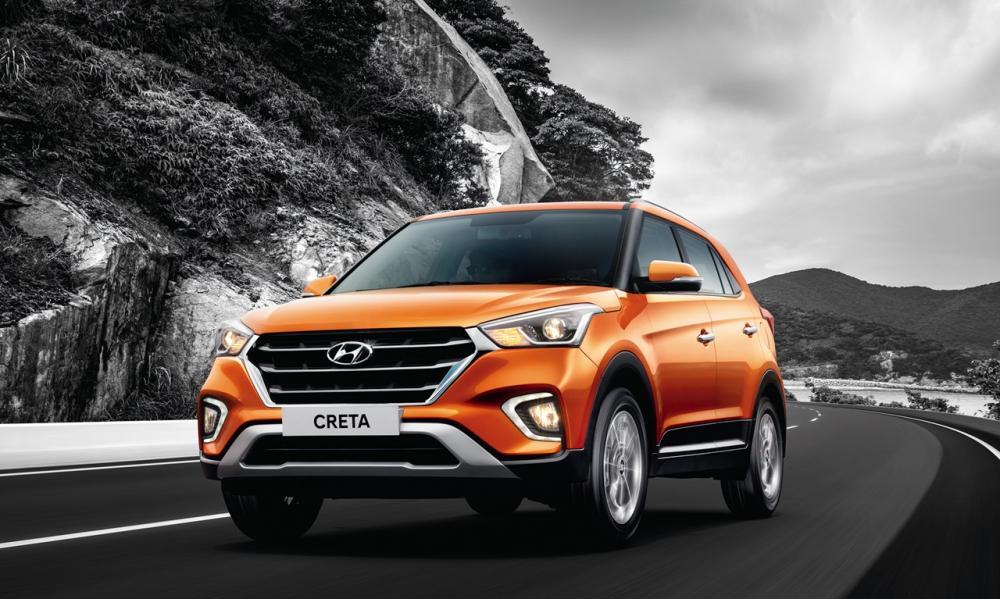 Can canh mau Hyundai Creta 2018, gia khoi diem tu 314 trieu dong hinh anh 1