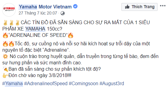 Se rat that vong neu Yamaha Exciter the he moi su dung dong co 150cc hinh anh 2