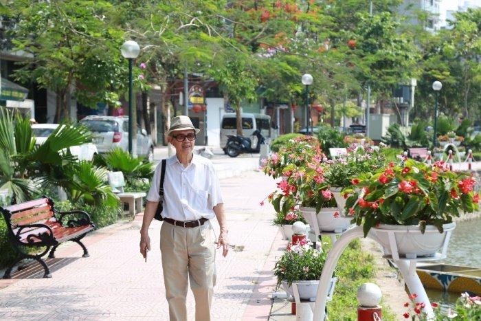 Anh: Pho di bo Trinh Cong Son truoc ngay khai truong co gi dac biet? hinh anh 13