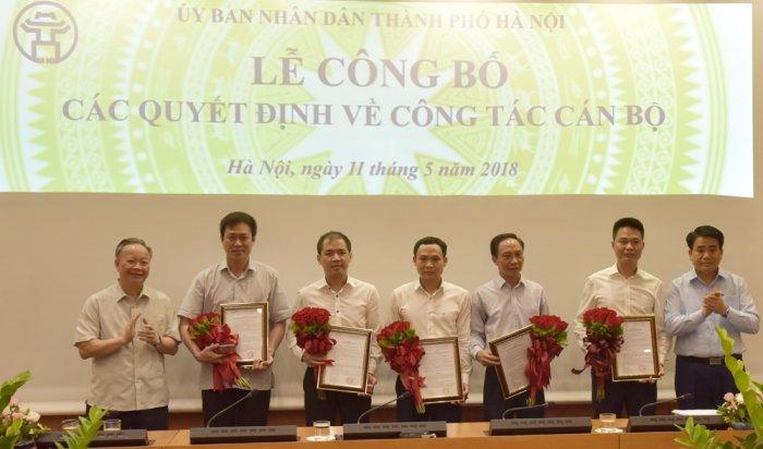 Ha Noi dieu dong, bo nhiem 5 Pho Giam doc So va Ban Quan ly du an hinh anh 1