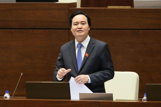 Dai bieu Quoc hoi: 'Bo truong Phung Xuan Nha tra loi thang than, co trach nhiem' hinh anh 1