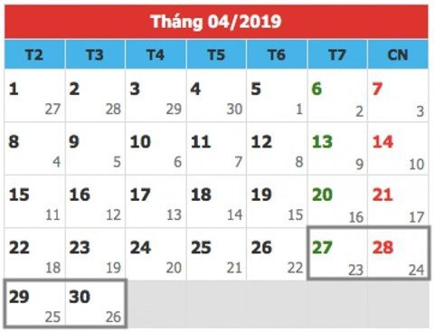 Thu tuong phe duyet dip le 30/4- 1/5/2019 se duoc nghi 5 ngay hinh anh 1