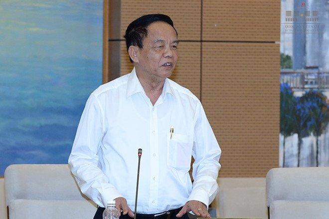 Bao cao Bo Chinh tri quan ham cap tuong cua giam doc cong an tinh hinh anh 1