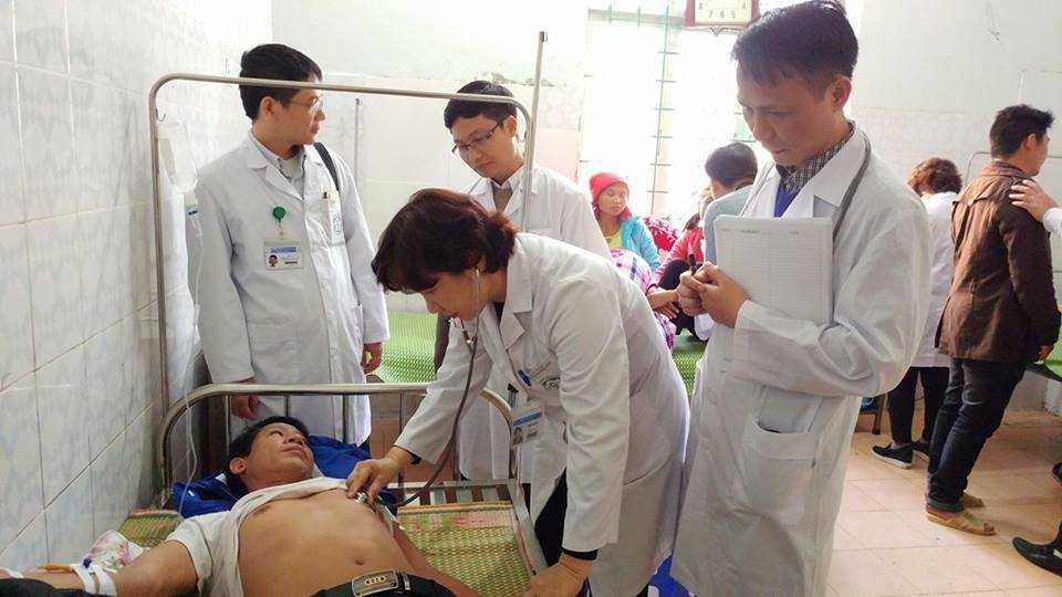 Lai Chau: Them mot nguoi tu vong du khong uong ruou tai dam ma o ban Ta Chai hinh anh 1
