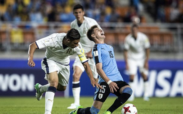 Video truc tiep U20 Italia vs U20 Uruguay tranh hang ba U20 the gioi 2017 hinh anh 3
