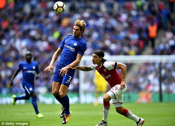 Morata sut hong phat den, Chelsea mat Sieu cup Anh vao tay Arsenal hinh anh 1