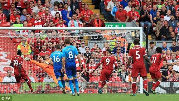 Video ket qua Liverpool 4-0 Arsenal: Liverpool thang hoa dap tan Phao thu hinh anh 1