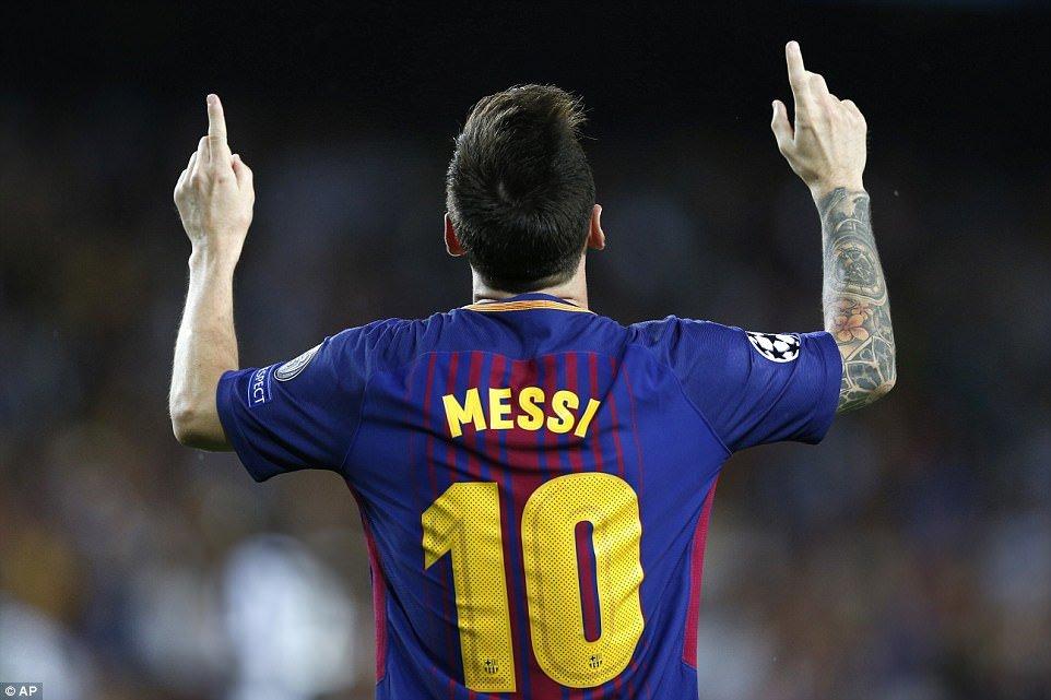 Ket qua Champions League: 'Sieu' Messi toa sang, Barca nhan chim Juventus hinh anh 1