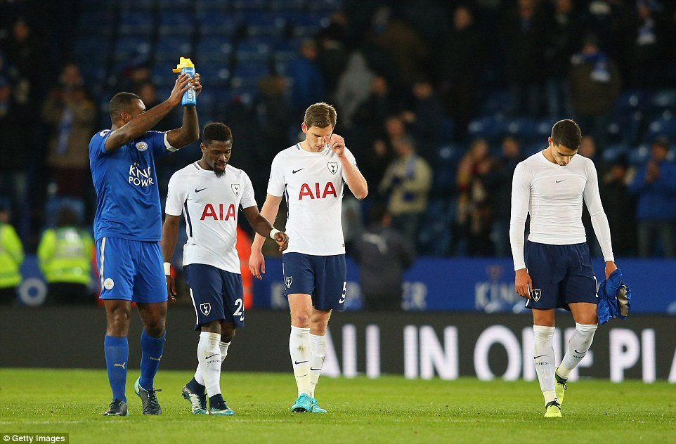 Video: Choi that vong, Tottenham bai tran truoc Leicester City hinh anh 1
