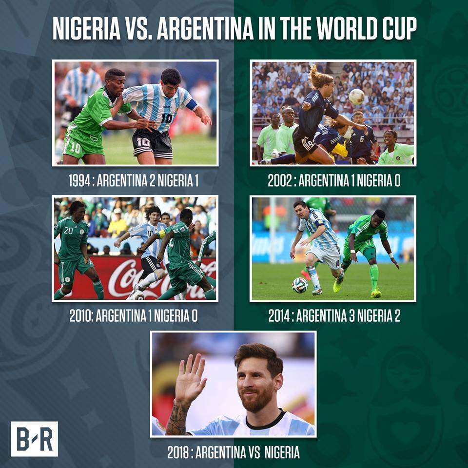 World Cup 2018: Duyen ky la cua cap dau Argentina vs Nigeria hinh anh 2