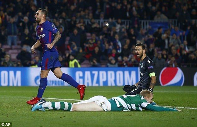 Barcelona thang de, keo dai chuoi tran bat bai len con so kho tin hinh anh 1