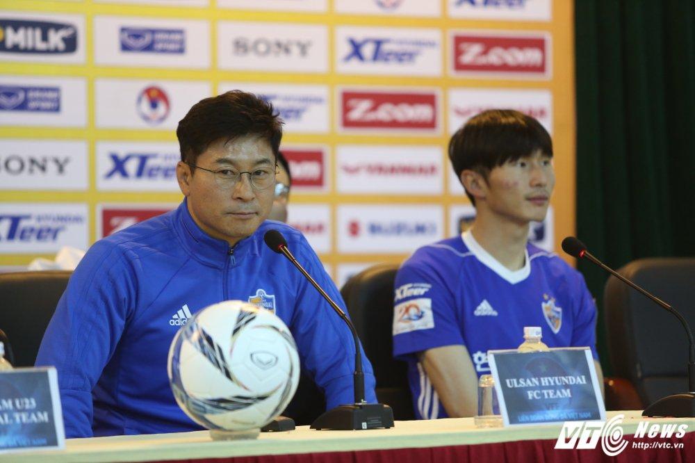 HLV Ulsan Hyundai: U23 Viet Nam du suc cam hoa U23 Han Quoc hinh anh 1