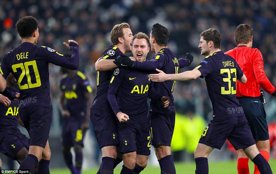 Ket qua Cup C1 chau Au: Eriksen ruc sang, Tottenham suyt tao dia chan truoc Juventus hinh anh 2