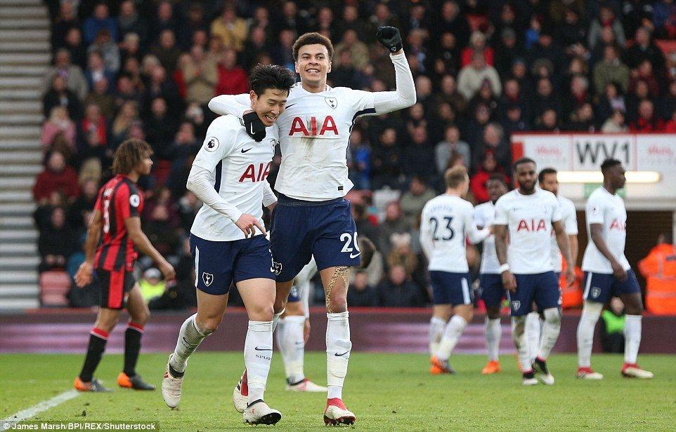 Son Heung-min toa sang, Tottenham tiep tuc bam duoi MU hinh anh 1