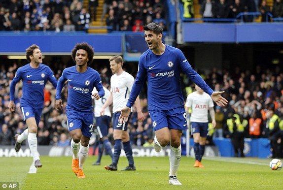 Thua tham Tottenham, Chelsea sap het hy vong du Champions League hinh anh 1