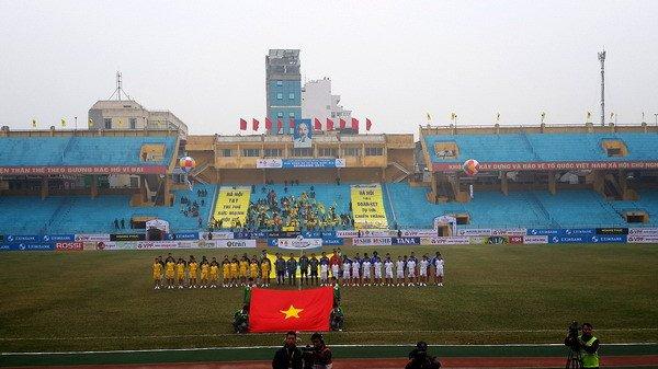 Ha Noi FC vo dich luot di V-League: Khi vinh quang khong chi nam tren san co hinh anh 1