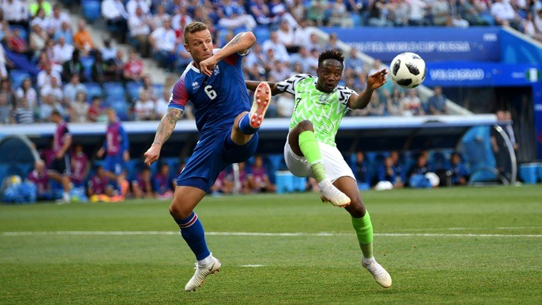 De bep Iceland, Nigeria thap lai hy vong di tiep cho Argentina hinh anh 1