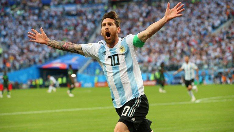 Messi lap cong, Argentina rung rung hanh phuc qua vong bang hinh anh 1
